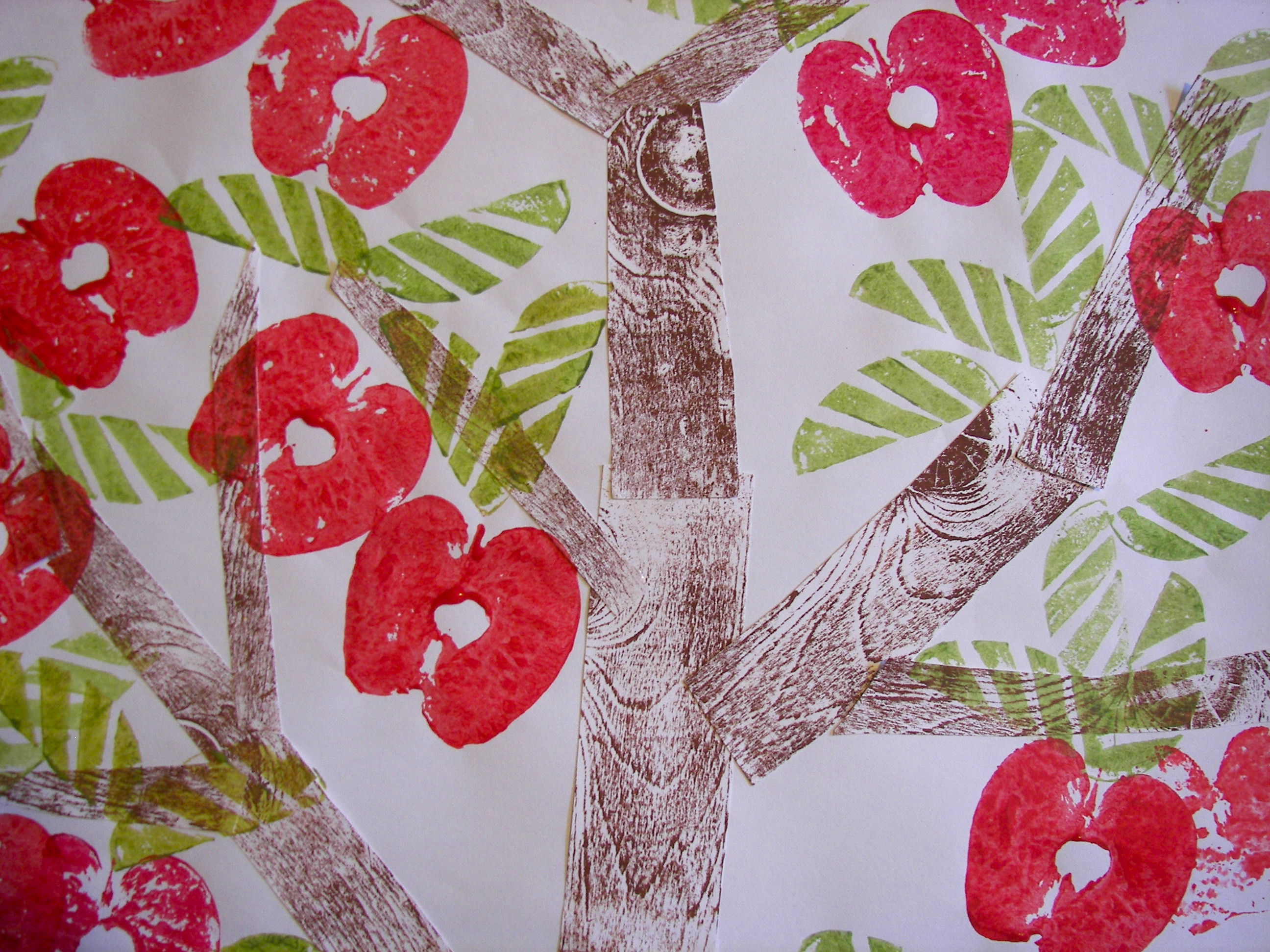 Printed Fruit Trees Nettle S Notes